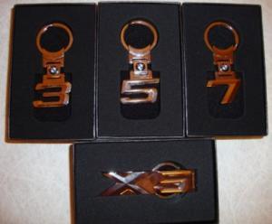 Брелки на ключи БМВ (3, 5, 7, Х5 серии)