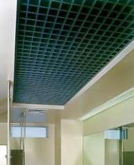 Решетчатые потолки, потолки решетчатые грильято,