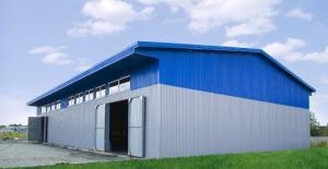 Hangars, the fast-built buildings