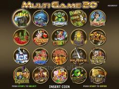 Игровая плата Paula Multigame 20 in 1