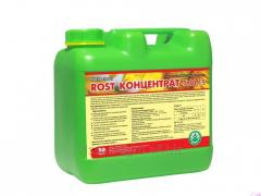 ROST-CONCENTRATE 5:10:15. Packaging - 10l, 4l, 1l... Organic fertilizer on the basis of potassium humate enriched with NPK