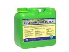 ROST-CONCENTRATE 15: 7: 7. Packaging - 10l, 4l,