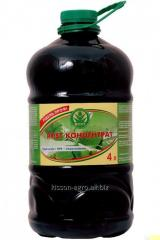 ROST®-КОНЦЕНТРАТ 5:5:5. 4л. PET la botella. El abono organomineralnoe en la base gumata del potasio, enriquecido NPK
