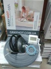 Теплый пол GrayHot 4,8 м2 тонкий под плитку в клей