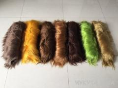 Fur of a yak (in plates)