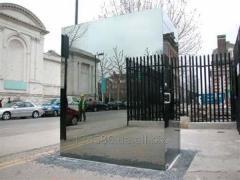 "Unilateral"" mirror (mirror spy, police"