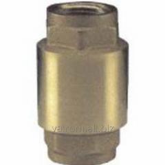 Vertical BP-BP backpressure valve brass