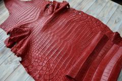 Leather of a crocodile (whole skins)