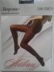 Female stockings 100 den Verona