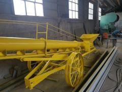 Shnekovy conveyor (100t/h)