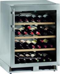 Built-in wine racks
