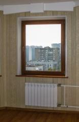 Пластиковое окно ламинорованное под дерево Premium energeto 1280 х 1430