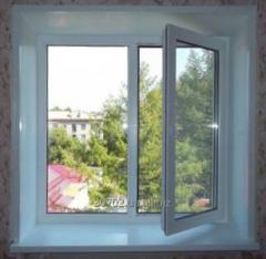 Пластиковое окно Optima 1400х1300