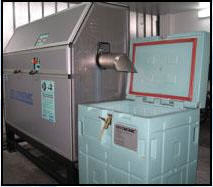 Equipment for cleaning and production of an