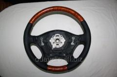 Automobile steering wheels