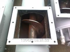 Shnekovy conveyors, feathers for screws