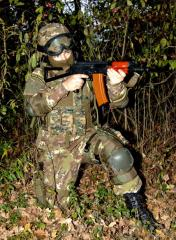 Special troops uniform. Uniform, sample of army of