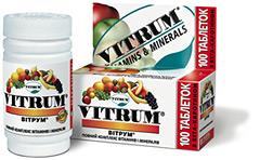 витамины витрум кардио инструкция