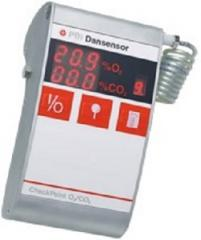 Portable gas analyzer of Check Point O2+CO2