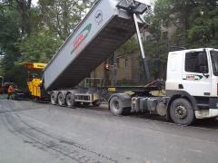 Asphalt concrete road all types with ABZ