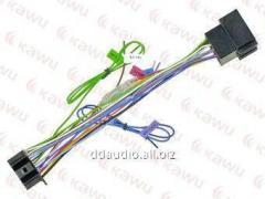 Проводка для магнитол Коннектор до KENWOOD DNX - ISO 2009->