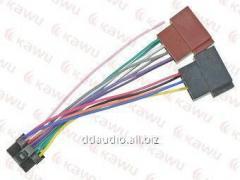 Проводка для магнитол Коннектор до ALPINE CDE 7854R - ISO