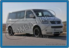 Полная окантовка стекол (14 шт, нерж) Длинная база Volkswagen T5 Multivan (2003-2010)