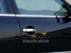 Накладки на ручки (4 шт, нерж) Carmos - Турецкая сталь Volkswagen Golf 4 (1998-2004)