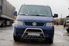 Кенгурятник WT003 (нерж) 60мм, без надписи Volkswagen T5 Multivan (2003-2010)