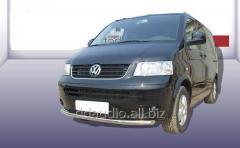 Нижняя одинарная губа ST008 (нерж) 60 мм Volkswagen T5 Caravelle (2004-2010)