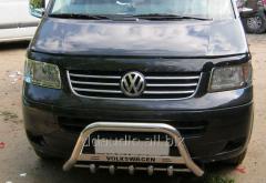 Кенгурятник WT003 (нерж) 60 мм, без надписи Volkswagen T5 рестайлинг (2010-2015)