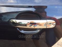 Накладки на ручки (4 шт, нерж) Carmos - Турецкая сталь Volkswagen Golf 5+ Plus