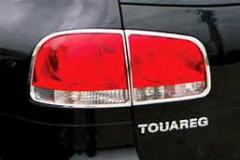 Накладки задние фонари 2003-2008 (2 шт, пласт) Volkswagen Touareg (2002-2010)