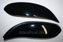 Реснички (черные) Renault Trafic (2001-2007)
