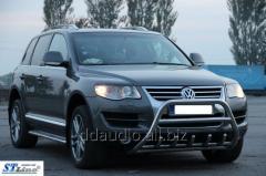 Кенгурятник WT003 Special (нерж) Volkswagen Touareg (2002-2010)