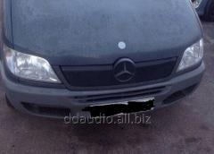 Зимняя накладка на решетку 2000-2002, Глянцевая Mercedes Sprinter (1995-2006)