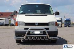 Кенгурятник WT003 Plus-2 (нерж) Volkswagen T4 Transporter