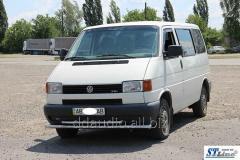 Нижняя двойная губа ST014 (нерж) 60/42мм Volkswagen T4 Caravelle/Multivan