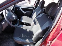 Авточехлы Экокожа+Ткань Dacia Logan MCV (2008-2014)