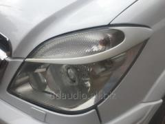 Реснички Луна (под покраску) Mercedes Sprinter (2006+/2013+)