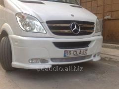Передний бампер 2 фары Mercedes Sprinter (2006+/2013+)