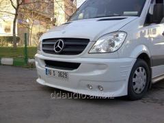 Передний бампер 4 фары Mercedes Sprinter (2006+/2013+)