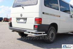 Задние уголки двойные AK003-Double (2 шт, нерж) Volkswagen T4 Caravelle/Multivan