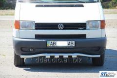 Нижняя губа с грилем ST010 (нерж) 51мм Volkswagen T4 Caravelle/Multivan