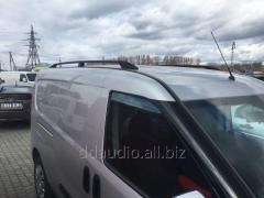 Рейлинги черные Maxi, Металлические ножки Doblo III nuovo (2010+/2015+)