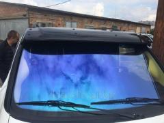 Козырек на лобовое стекло (на кронштейнах) Mercedes Vito W638 (1996-2003)