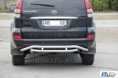 Задняя защита AK008-1 Toyota LС 120 Prado