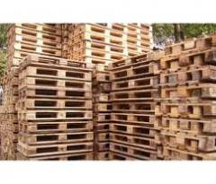 Timber for pallets, Timber for pallets from the