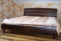 Bed double Katerina, natural tree Beds to order