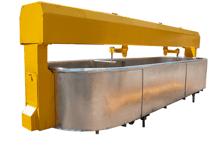 Bathtub of cheese-making 2500 l